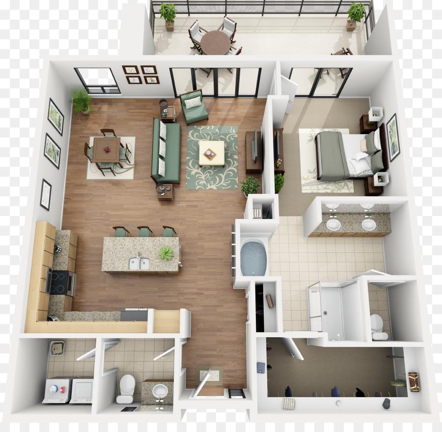 Apartment Renting House Thornton Condominium   Loft Apartment Floor Plans 3d