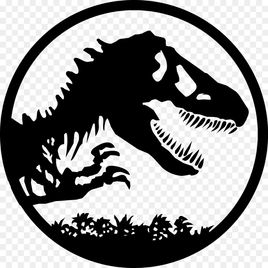 youtube jurassic park logo drawing youtube png download 2400