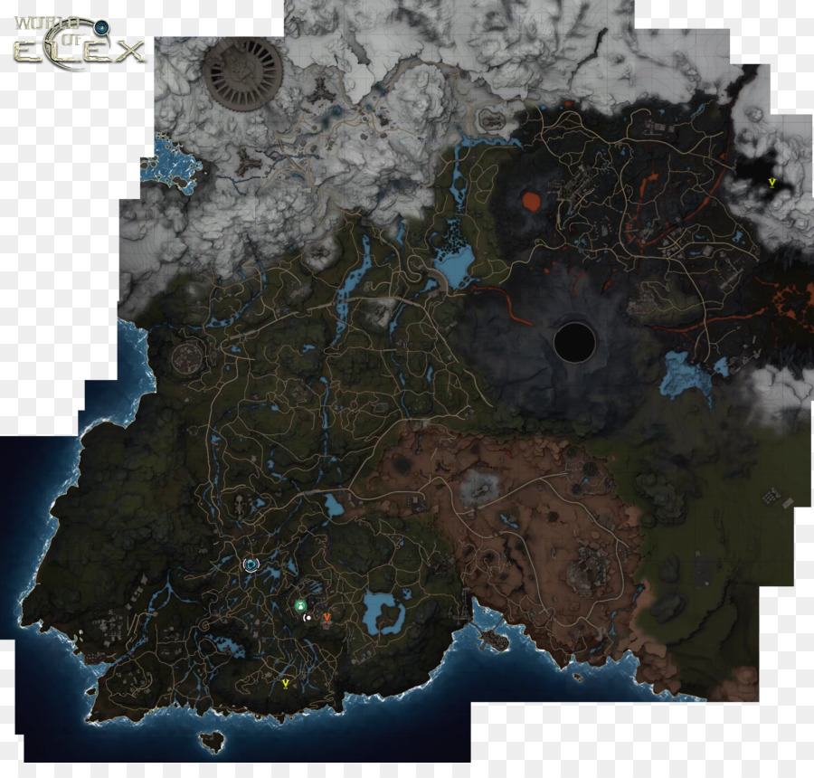 Elex world map video game world map png download 25552394 elex world map video game world map publicscrutiny Image collections