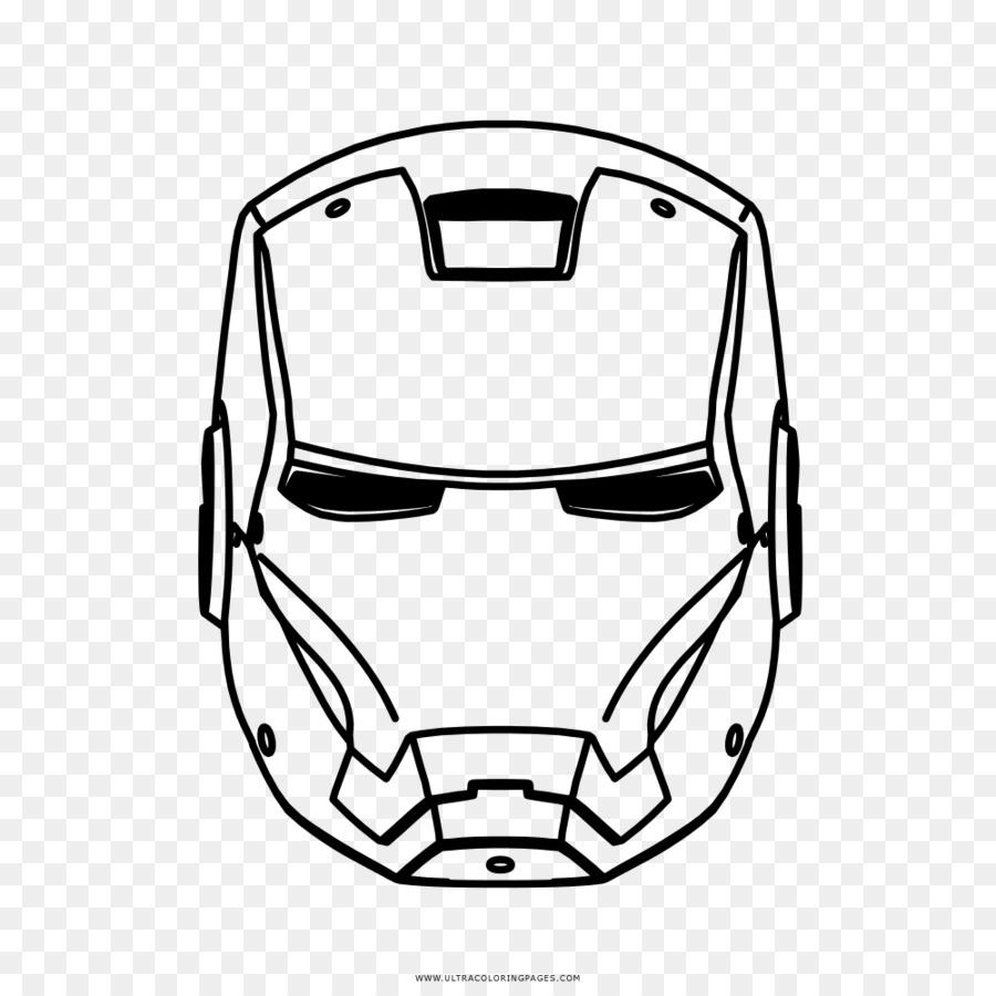 Iron Man Spider Man Drawing Mask Coloring Book Iron Man Sketch Png