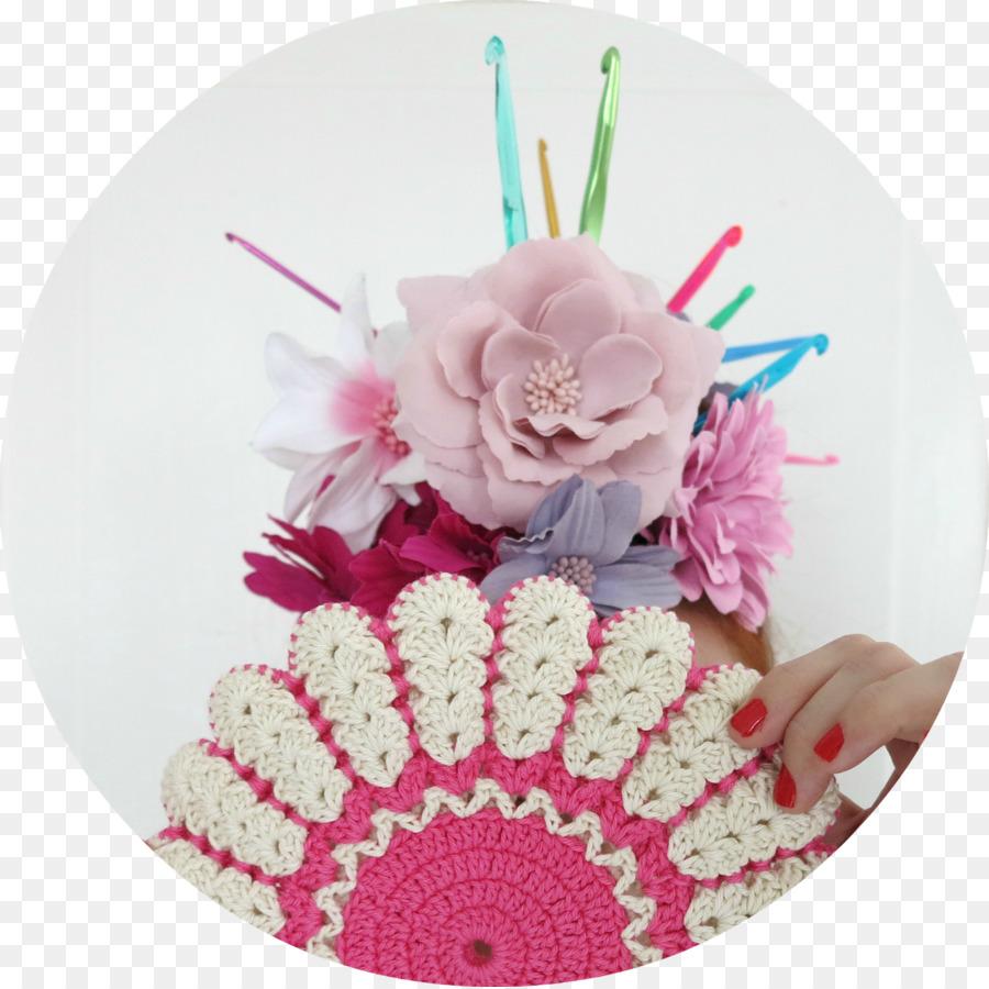 Pot-holder Floral design Cut flowers Crochet - crochet patterns ...