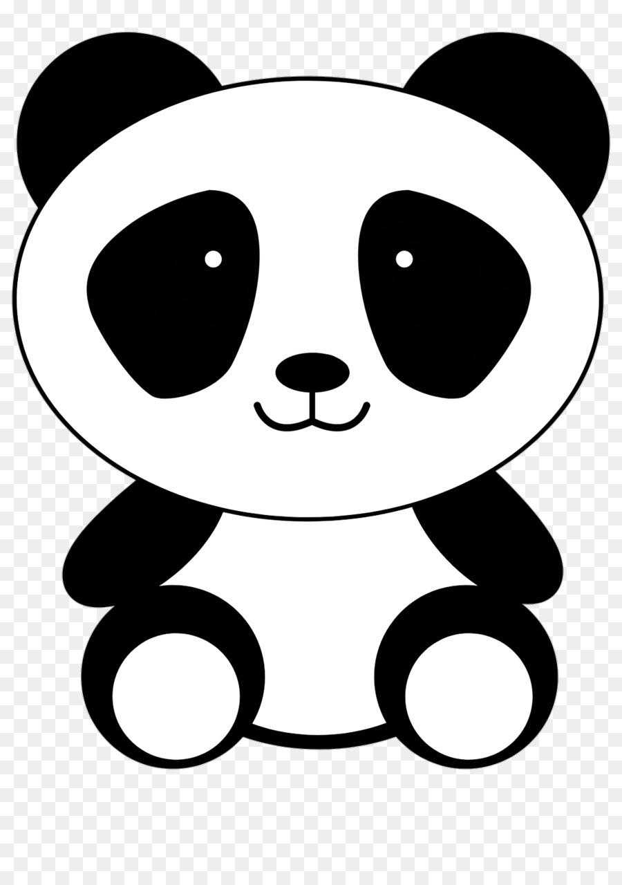 giant panda bear clip art bear png download 1080 1535 free rh kisspng com panda bear head clipart panda bear clip art and coloring pages