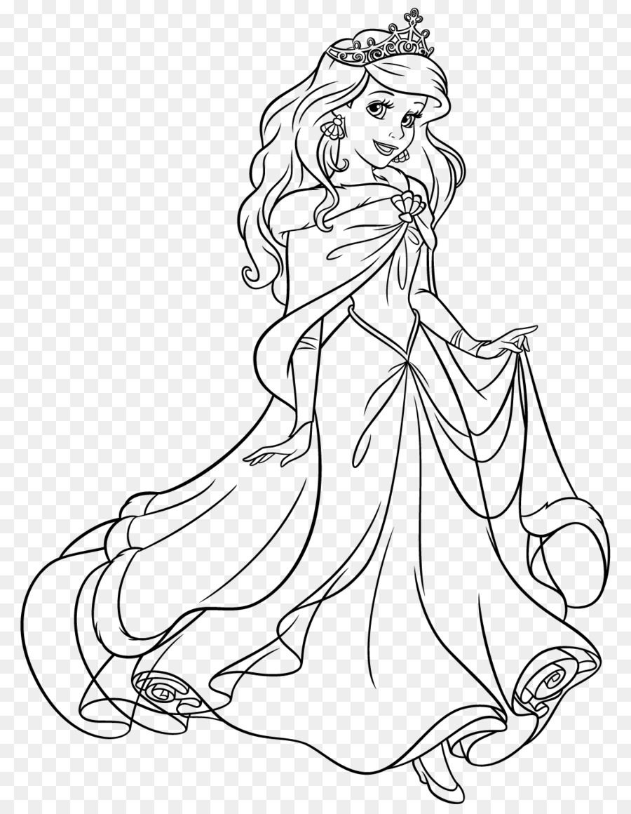 Ariel Tiana Cinderella Prenses Yasemin Rapunzel Külkedisi Png