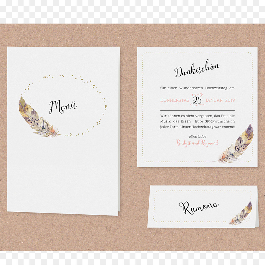 Wedding invitation Menu Map Boho-chic - wedding png download - 900*900 - Free Transparent Wedding Invitation png Download.