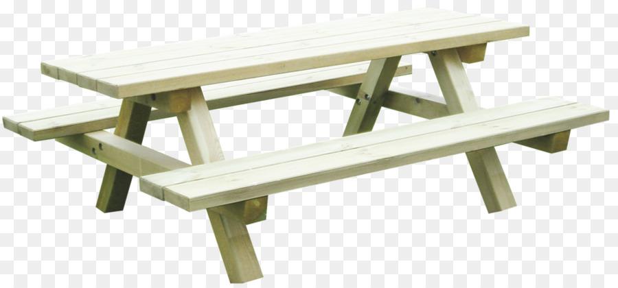 Table Bench Garden Furniture Kinder Garten Png Download