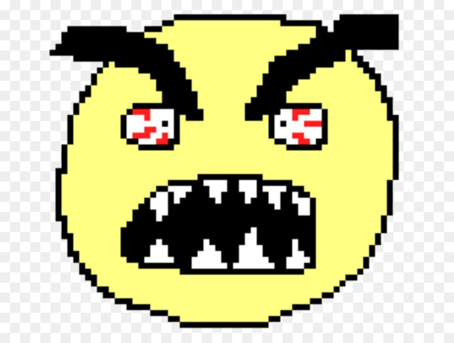 Smiley Emoticon Pixel Art Clip Art   Smiley