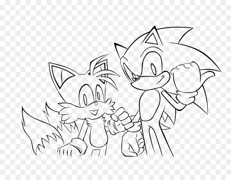 Sonic the Hedgehog 4: Episodio II el arte de Línea para Colorear ...