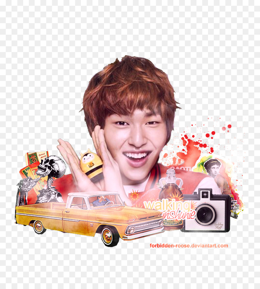 Hair coloring SHINee Etude House - onew png download - 800*1000 ...