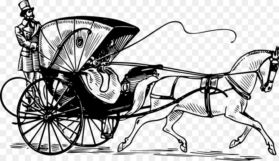 Taxi Horse Carriage Clip Art