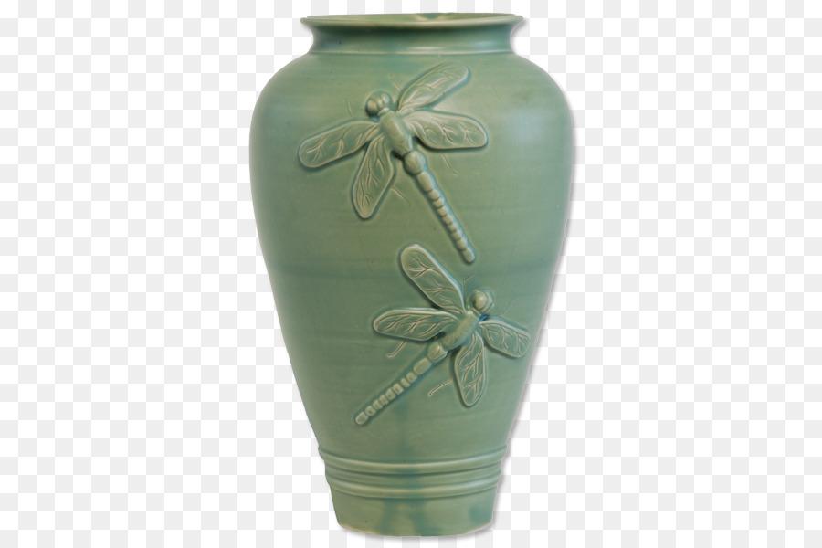 Vase Pottery Ceramic Urn Celadon Vase Png Download 600600