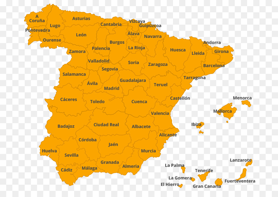 Spain Map Of Provinces.Provinces Of Spain Map Clip Art Map Png Download 758 631 Free
