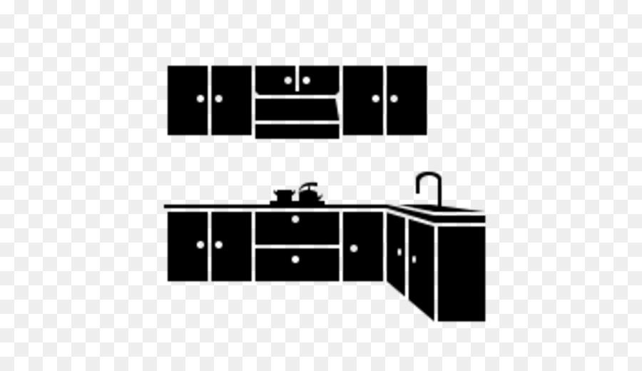 Kitchen Cabinet Black Png Download 512 512 Free Transparent
