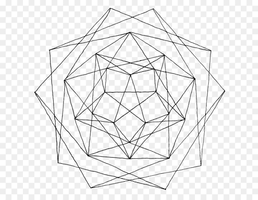 La geometría de la Línea de libro para Colorear, Dibujo de Mandala ...