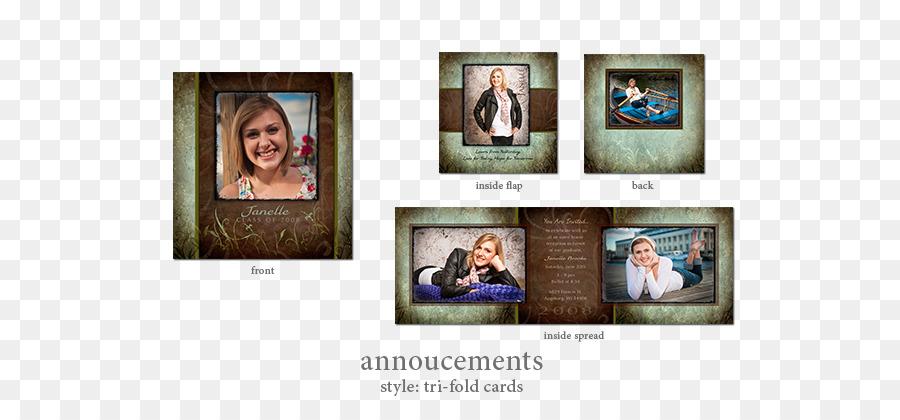 Photo Albums Collage Brand - tri fold Invitation Formatos De Archivo ...