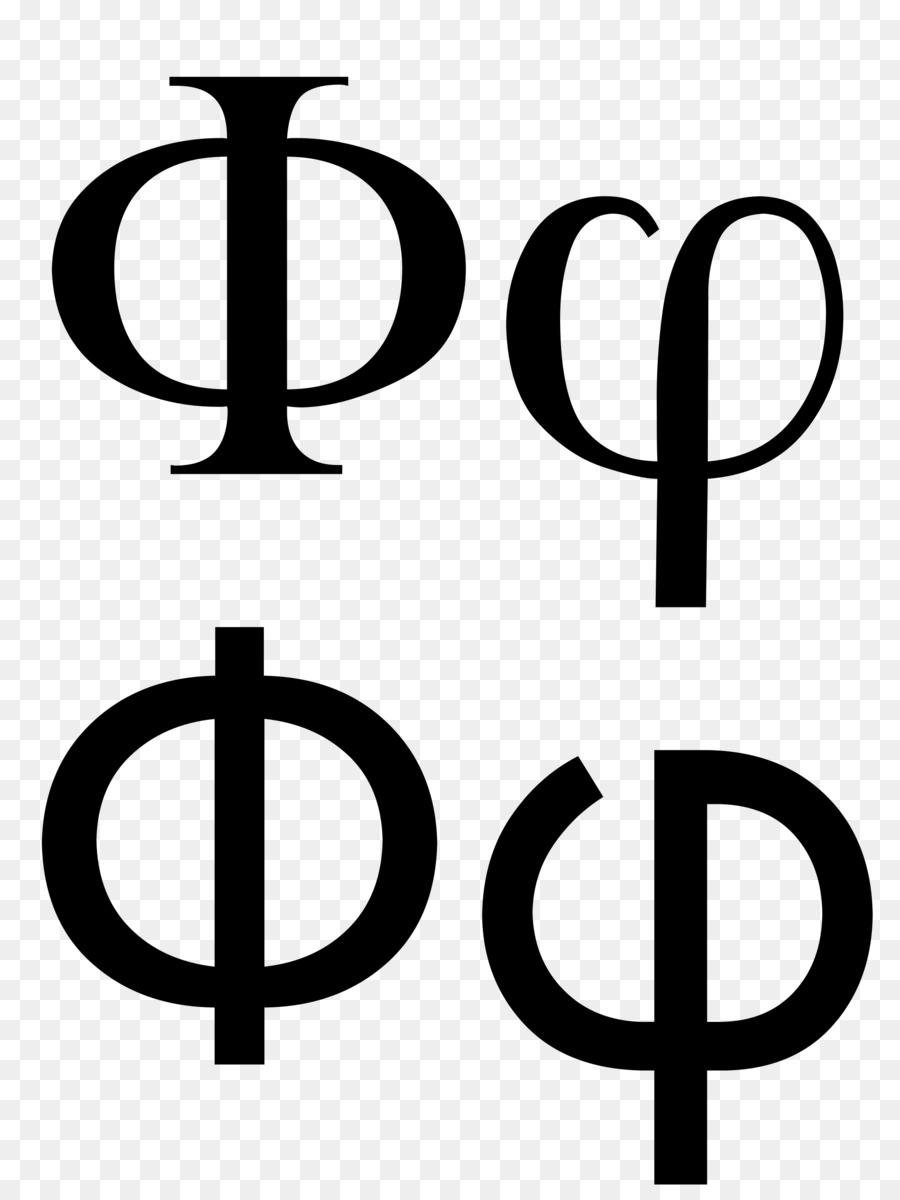 Phi Greek Alphabet Letter Case Psi Phi Symbol Png Download 1920