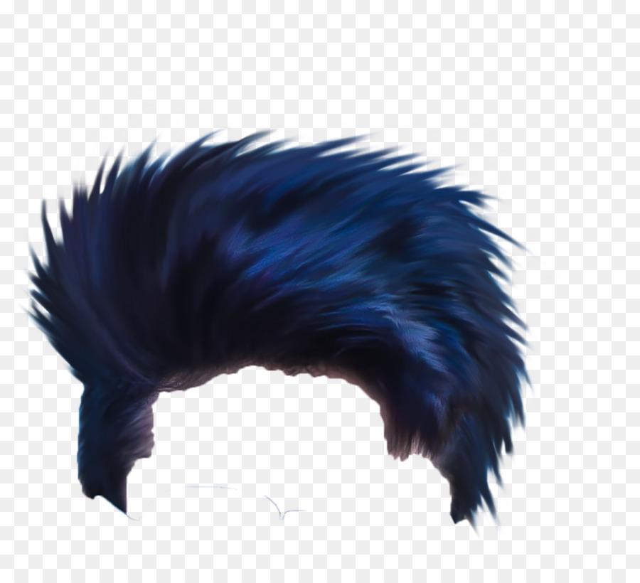 Picsart Photo Studio Blue Hair Image Editing Hair Png Download