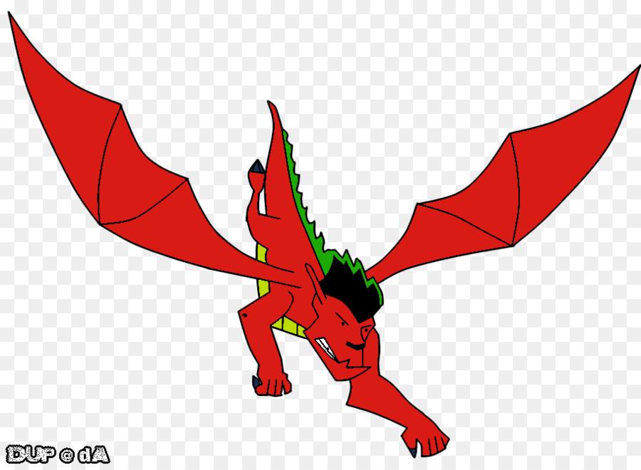Amerikanische Drachen Zeichentrickfilm