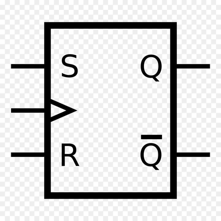 Flip Flop Electronic Circuit Circuito Sequencial Logic Gate Into An Or Electronics Tin Symbol