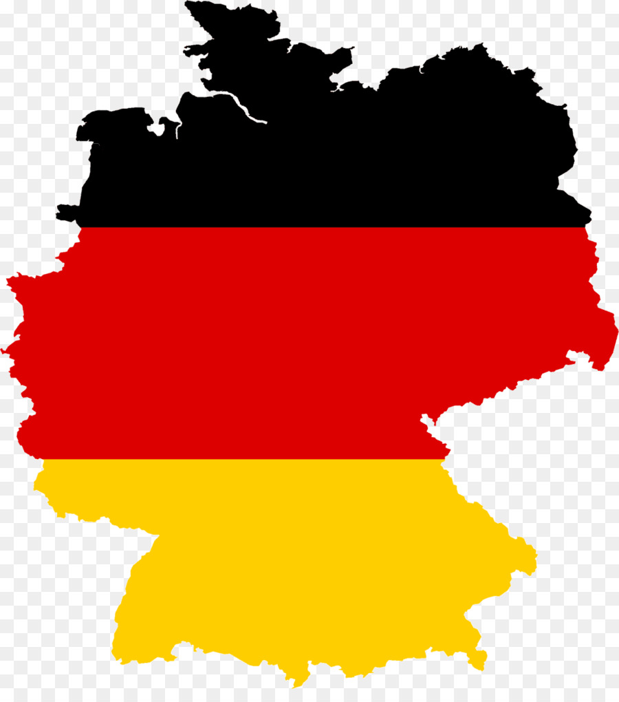 East Germany West Germany Flag of Germany Clip art - map png ...