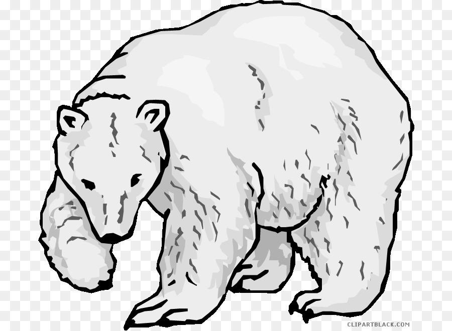 Oso Polar En Peligro De Extincion De Especies Libro Para Colorear