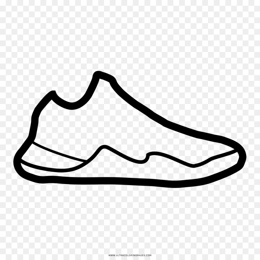 Drawing Basketball shoe Air Jordan Basketball shoe - basketball ...