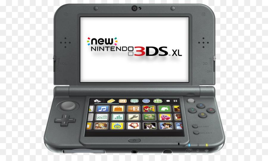new nintendo 3ds, nintendo 3ds xl, nintendo 3ds, technology, gadget png