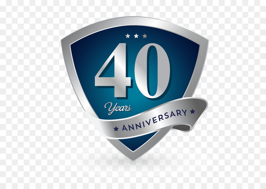 Logo Computer Icons Badge 40th Anniversary Png Download 640640
