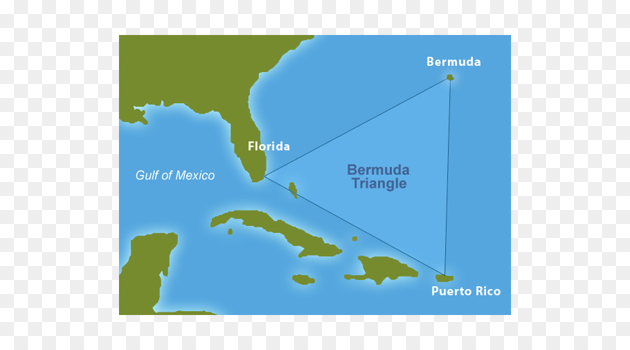 The Bermuda Triangle Mystery Solved United States Map - united ...