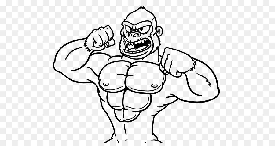 Gorilla Grodd Dibujo para Colorear libro Ternura - El Gorila De La ...