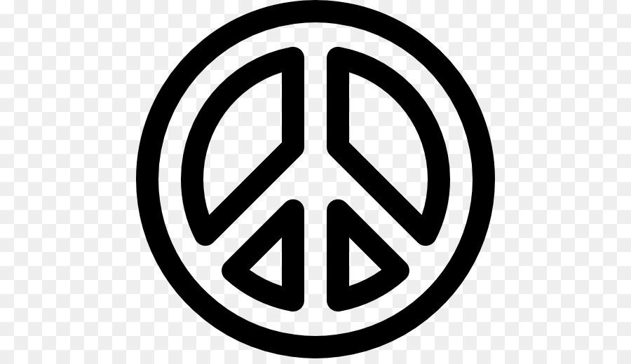 La paz símbolos libro para Colorear Doodle Signo - la paz hippie png ...