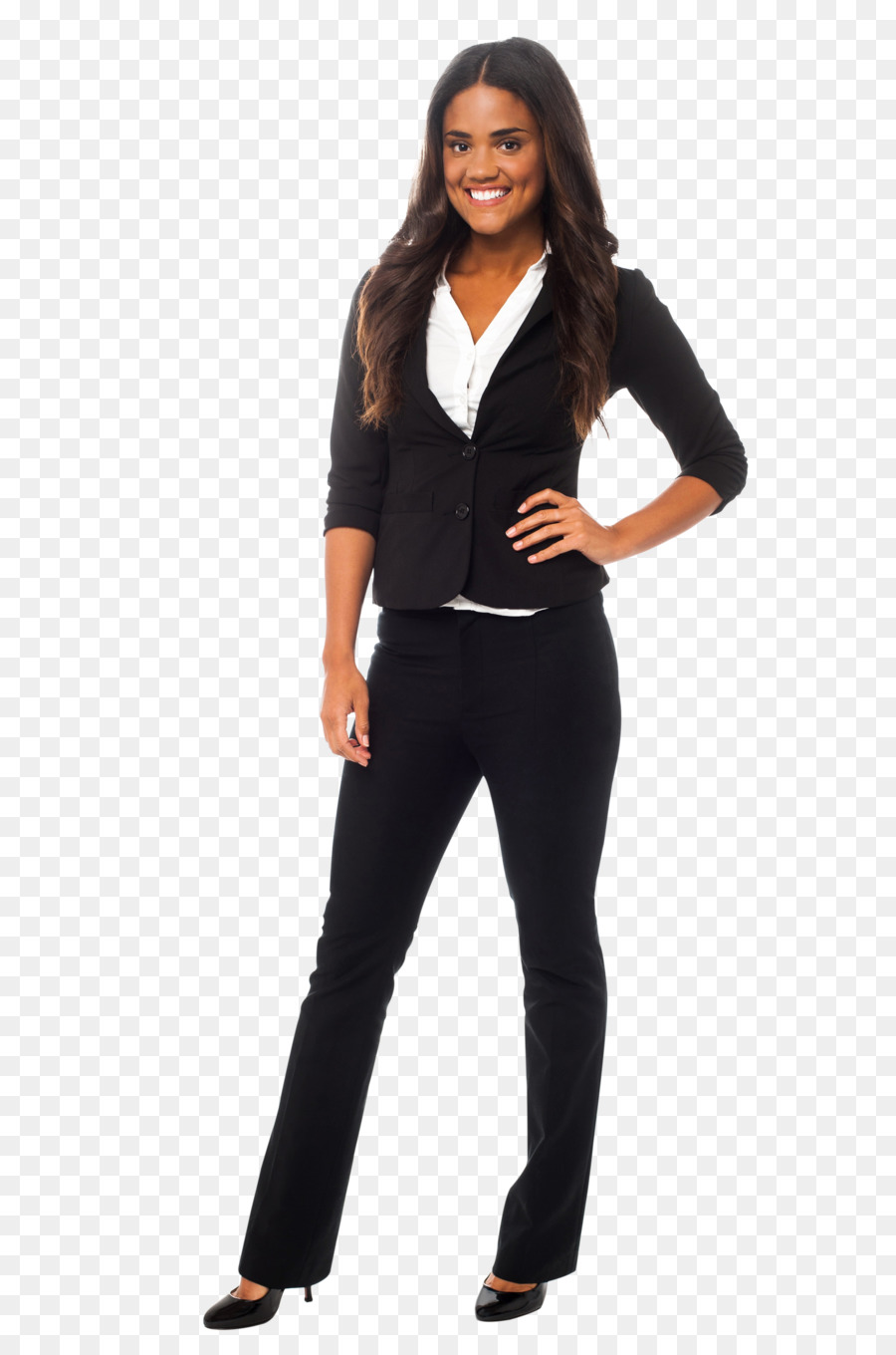04681266a84 Business casual Dress Clothing Pant Suits - dress png download ...