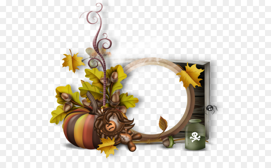 Picture Frames witch Clip art - dragon frame png download - 600*542 ...