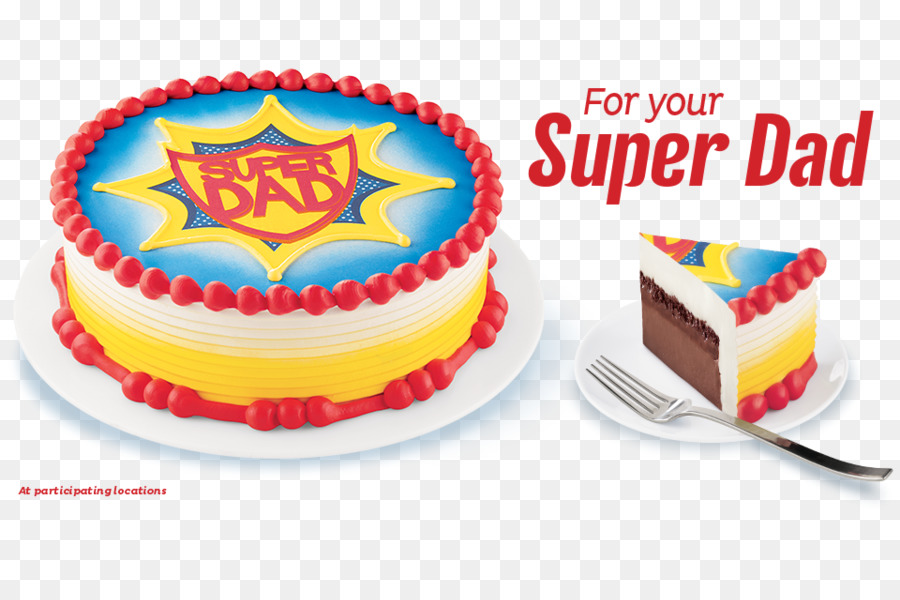 Birthday Cake Ice Cream Dairy Queen Dessert PNG