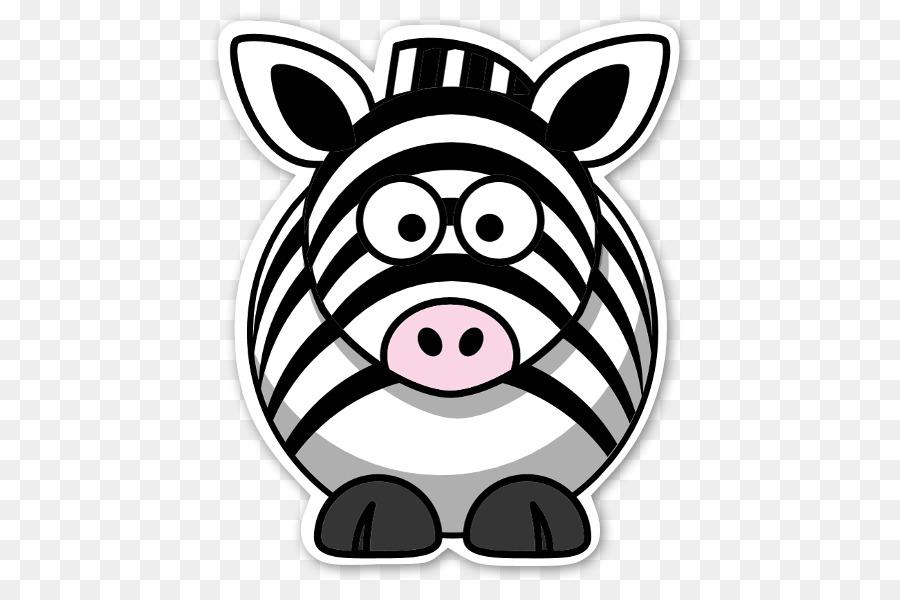 Libro para colorear de Dibujo de dibujos animados - zebra png dibujo ...