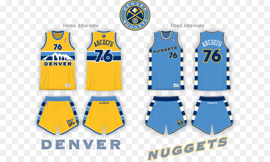 best service 83e1b b6368 Denver Nuggets Clothing png download - 700*537 - Free ...