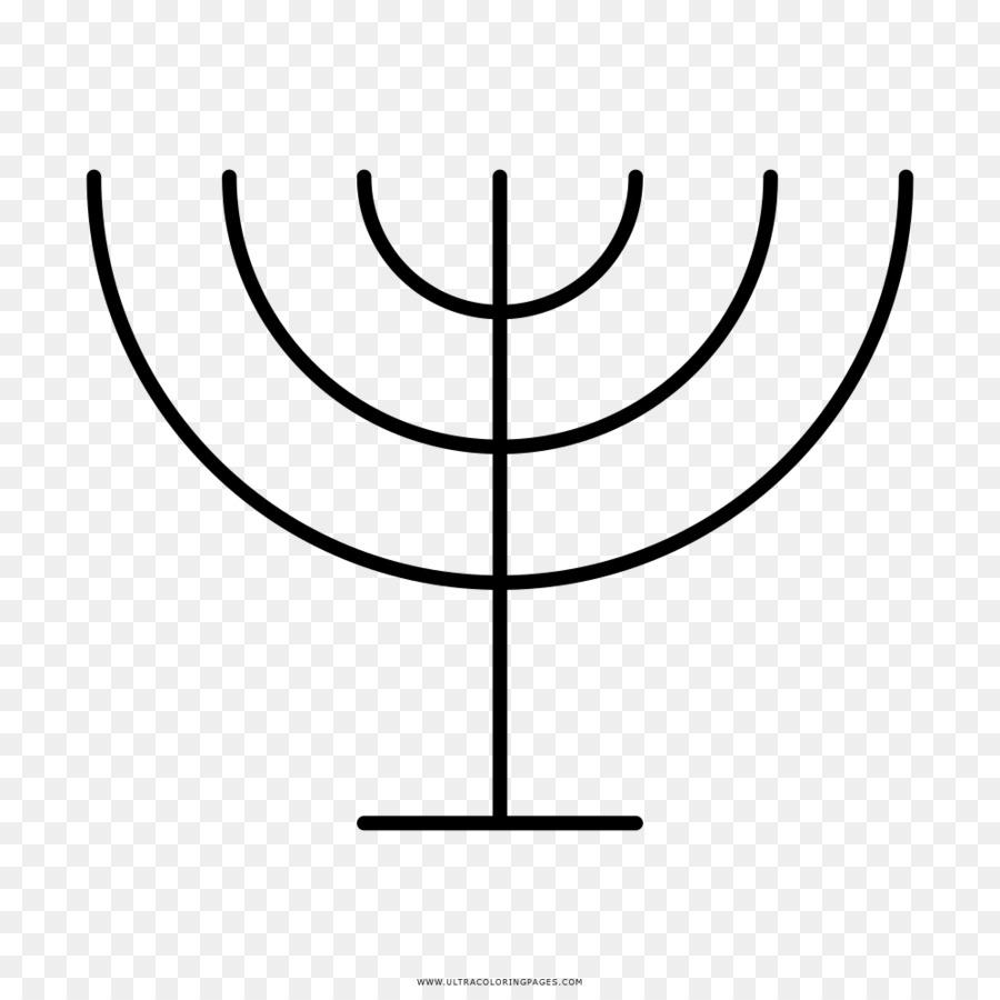 menorah drawing hanukkah coloring book mandala menora png download