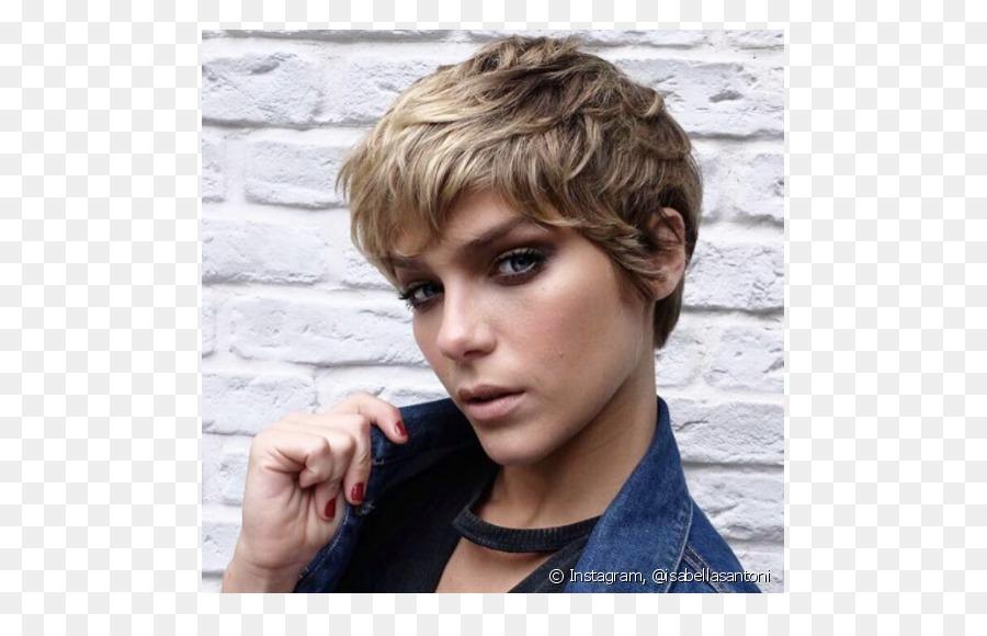 Pixie Cut Frisur Mode Menschliches Haar Farbe Haar Png