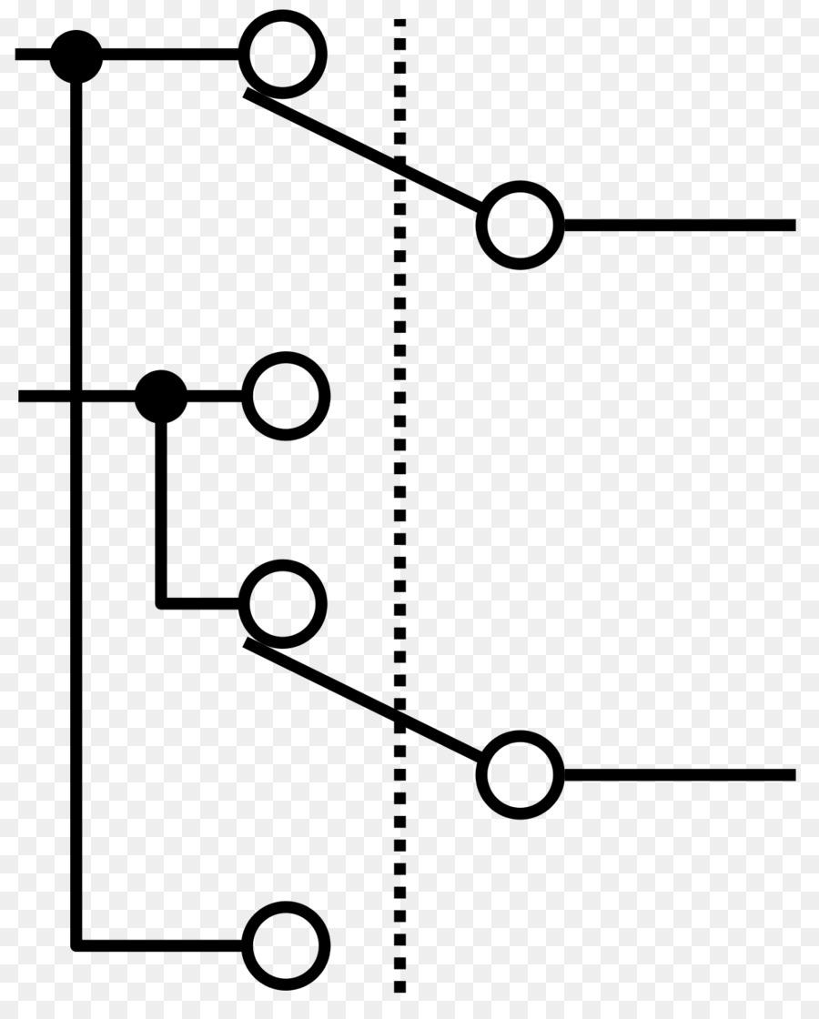 Multiway-schalten Elektrischer Schalter Elektronische symbol ...