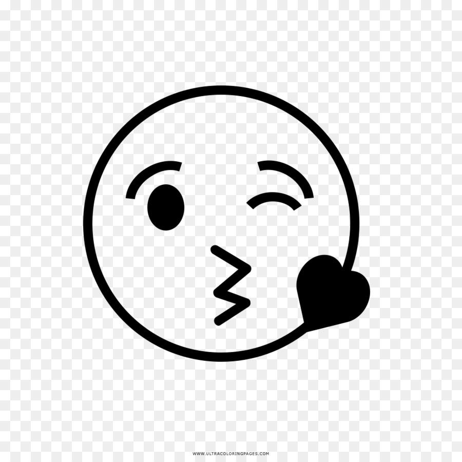 Libro Da Colorare Disegno Di Smiley In Bianco E Nero Naso