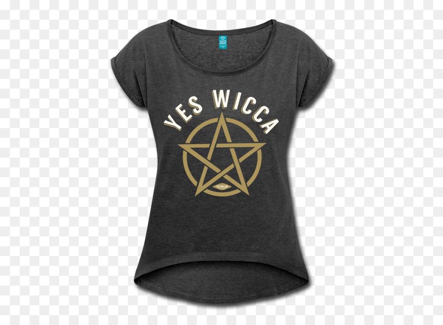 T Shirt Pentagram Pentacle Wicca Symbol T Shirt Png Download 650