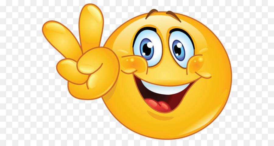 Emoticon Emoji Smiley Peace Symbols Online Chat Emoji Png Download