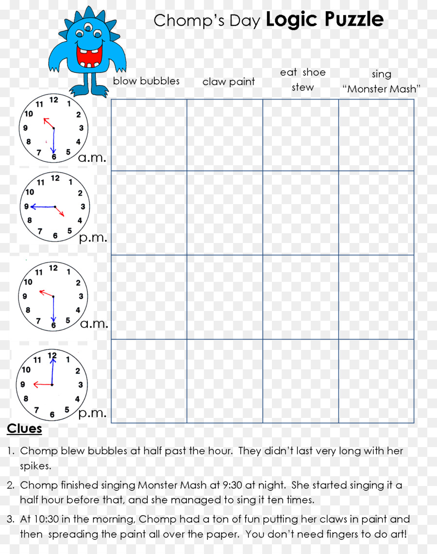 Math Logic Puzzles Text png download - 1249*1572 - Free Transparent