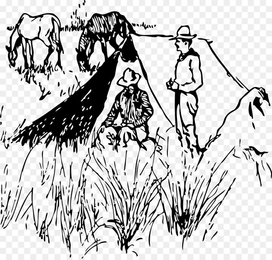 Cowboy Visual Arts Clip Art