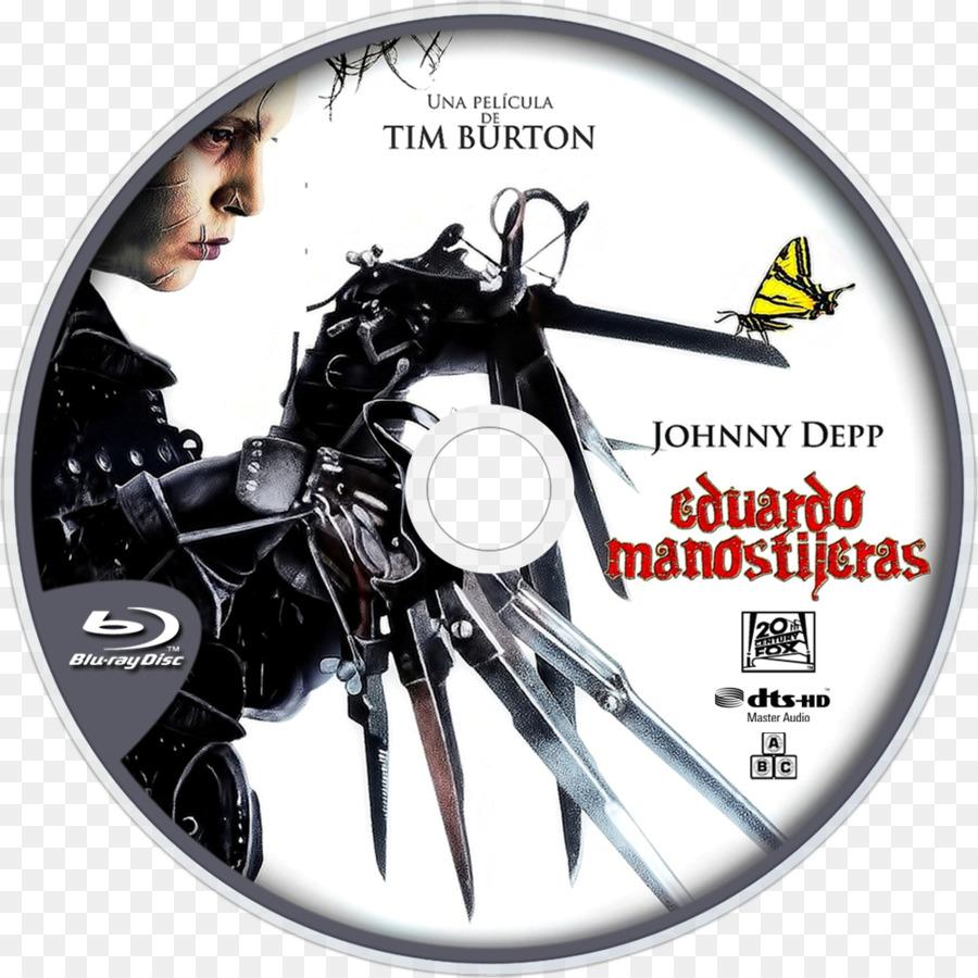 Film poster DVD Streaming media - Edward Scissorhands png download ...