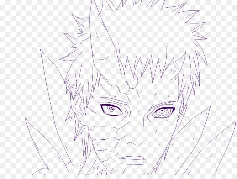 Los ojos de coloración del Cabello de la Línea de arte - Ojo ...
