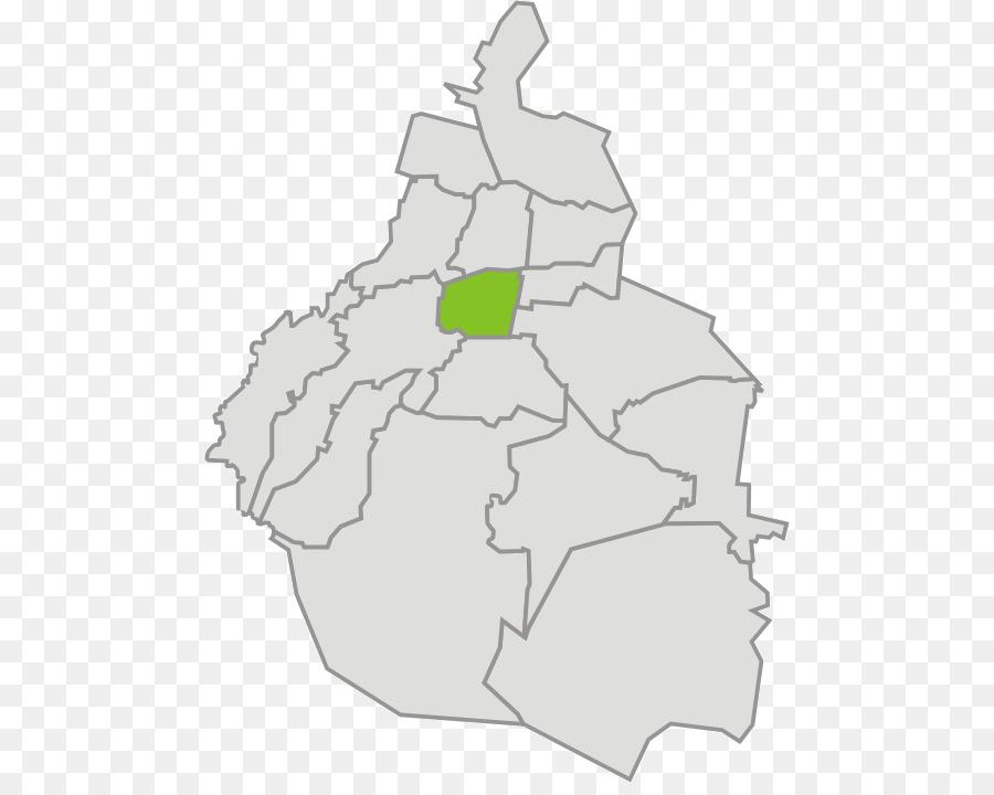 Coyoacan Benito Juarez Cuauhtemoc Mexico City Map Map Png