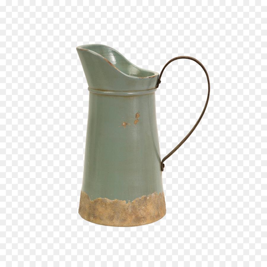 Jug Vase Ceramic Pitcher Decorative Arts Vase Png Download 1000