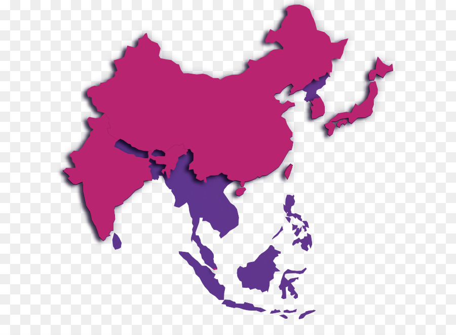 East Asia World Map Blank Map Map Png Download 893 645 Free