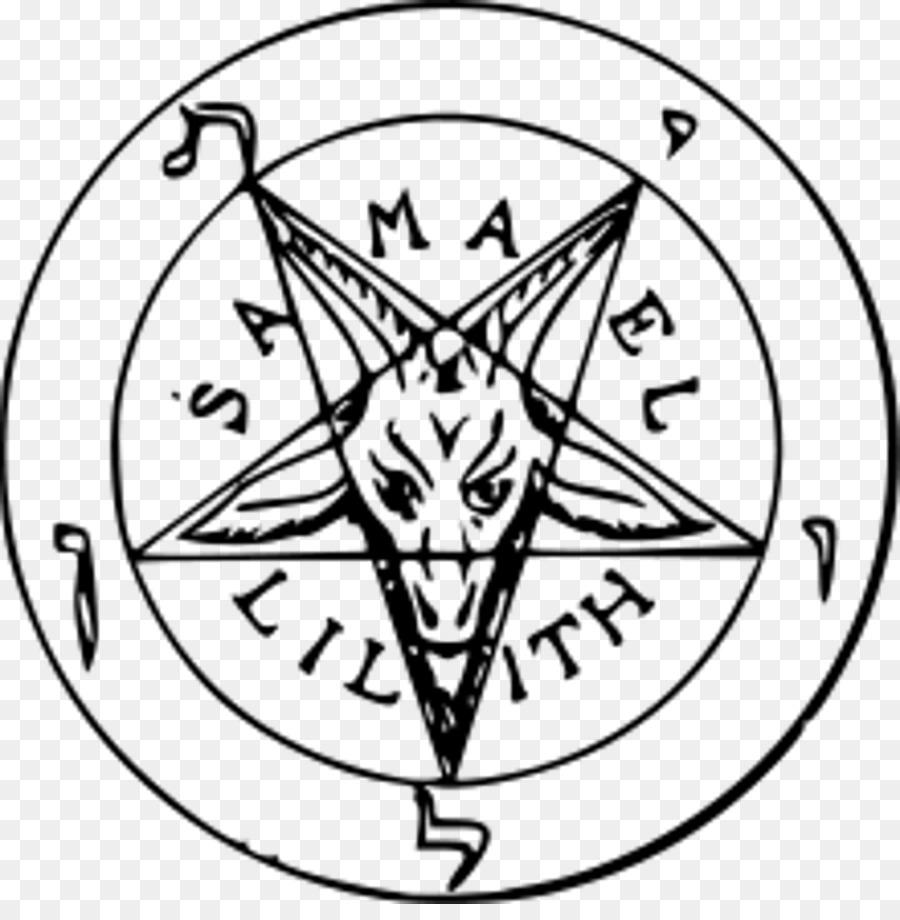 Church Of Satan Sigil Of Baphomet Satanism Symbol Png Download