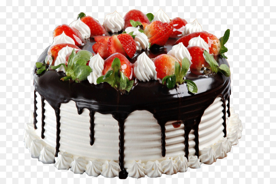 Birthday Cake Wedding Chocolate Strawberry Cream Black Forest Gateau